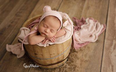 ¿Qué hacer cuando un recién nacido no se duerme para la sesión?
